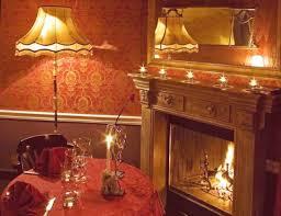 cena al lume di candela angolo romantico per una cena a lume di candela foto di vecchia