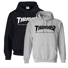 fashion men u0027s hoodie sweater hip hop skateboard thrasher women