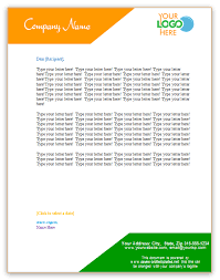 organization letterhead template