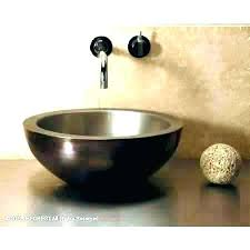 above counter bathroom sink above sink bowls affinity above counter basin bathroom sink bowls