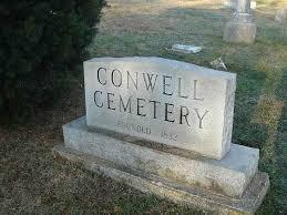 cemetery stones conwell cemetery stones
