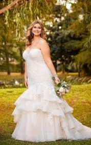 plus size fit and flare wedding dress 212 best plus size wedding dresses images on