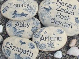 the 25 best personalized garden stones ideas on pinterest