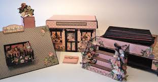 Chipboard Albums Annes Papercreations Graphic 45 Children S Hour House Boxed Mini