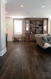 Wide Wood Plank Flooring Smoked Black Oak Wide Plank Hardwood Flooring Home Improvement