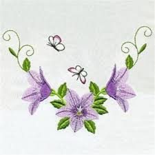 butterflies flowers embroidery designs machine embroidery