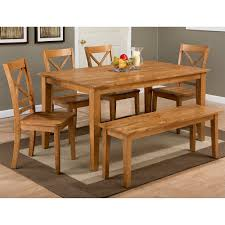 4 Piece Dining Room Set Jofran 352 60 352 14kd 4x352 806kd Simplicity Honey 6 Piece Dining
