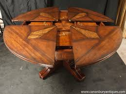 Round Table Size For 6 by Dining Room Antique Reproduction 2017 Dining Table For 6 To 10