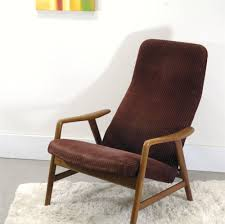 Modernist Chair by Danish Modern Teak High Back Lounge Chair By Soren Ladefoged And