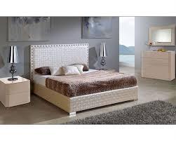 Modern Bed Set Furniture Set W Storage Bed Made In Spain Trenzado 33131te