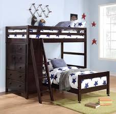 kids loft bed with storage desk u2014 modern storage twin bed design