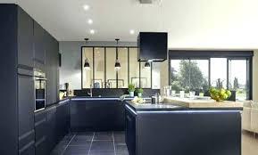 cuisine ouverte avec ilot table cuisine ouverte avec ilot central idées décoration intérieure