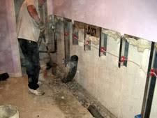 Interior Basement Drainage System Basement Waterproofing Select Basement Waterproofing 07751