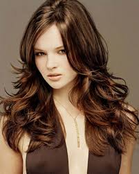 chocolate hair color with honey highlights short hair fashions