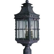 outdoor post mount lights nantucket 3 light outdoor pole post lantern outdoor pole post
