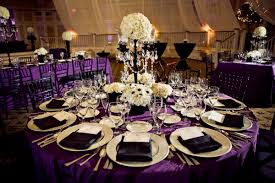 Purple Table L Best Purple Wedding Table Settings Pictures Styles Ideas 2018