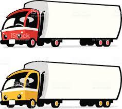 cute semi truck stock vector art 165621855 istock