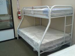white metal bunk beds decoration ideas full over full metal bunk
