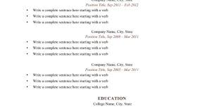 100 a complete resume hvac resume examples samples free