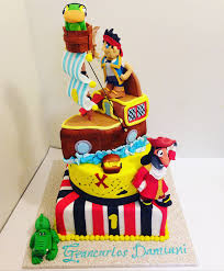 jake neverland pirates cake darlingcake ithaca