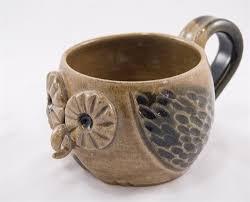 owl mug pottery owl mug by joanne stratakos