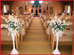 wedding decorations for church chairs 207895 wedding reception table