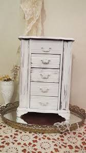 Shabby Chic Jewelry Armoire by Best 25 Tall Jewelry Box Ideas On Pinterest Vintage File