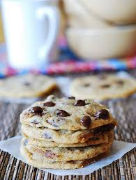 and chewy chocolate chip cookies