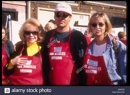 feed the homeless on thanksgiving november 23 1994 hollywood ca usa sandra dee son dodd darin
