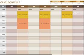 Schedule Excel Templates Free Daily Schedule Templates For Excel Smartsheet