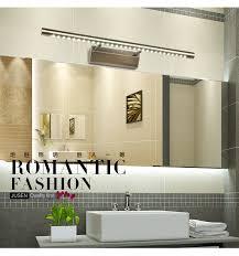 Bathroom Led Mirror Light Antique Brass Plating 7w Ac85 265v Vintage Wall L Indoor