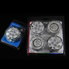 battery powered cl light rgb 10 led submersible light battery operated waterproof swimming