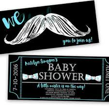 mustache and bow tie baby shower shop mustache invitations on wanelo