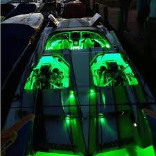led boat lights green waterproof bright led lighting kit