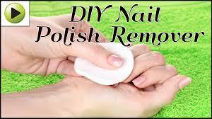 diy nail polish remover youtube