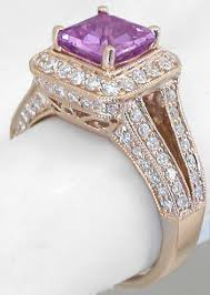 square cut rings images Square cut magenta sapphire rose gold engagement ring gr 5908 jpg