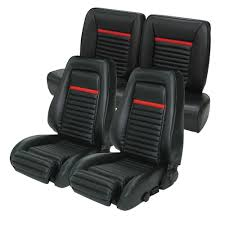 fox mustang seats mustang tmi upholstery mach 1 style sport high back seats 1984