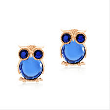 owl stud earrings classic owl stud earrings zinc alloy silver and gold