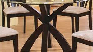 dark brown round kitchen table oak and rubbed white round dining tables with french countryside