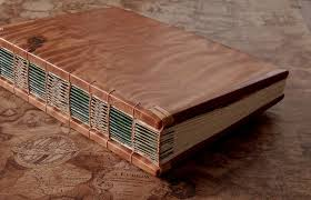 handmade reclaimed redwood wedding guest book journal wood book