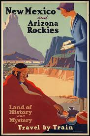 Arizona travel log images New mexico travel poster painting pinterest travel posters jpg