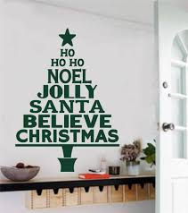 compare prices on trees quotes online shopping buy low price noel jolly santa quotes christmas tree wall sticker vinyl art home deco wall mural removable free