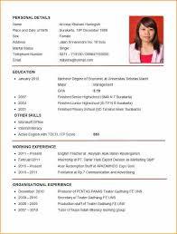 resume exles pdf cv sle pdf fungram co