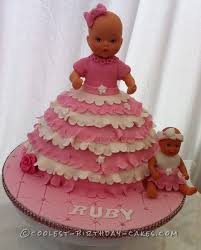 Halloween Baby Cakes by 700 Coolest Homemade Doll And Barbie Cake Designs