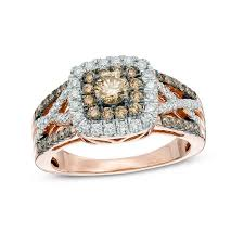 rose coloured rings images Colored diamonds collections zales jpg