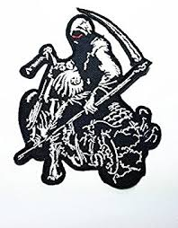 Dead Biker Halloween Costume Cheap Skull Biker Patches Skull Biker Patches Deals