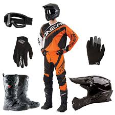 motocross helmet goggles oneal 2015 element race jersey pants gloves 3 series helmet
