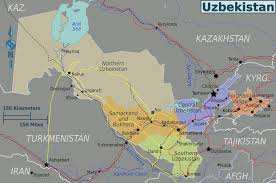 Map Of Central Asia Mongol Rally Maps Of Central Asia Team Adventure