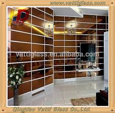 Cermin Brown high quality 2mm 6mm tinted mirror color mirror bronze mirror view