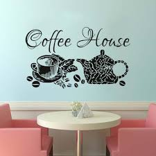 popular coffee shop interiors buy cheap coffee shop interiors lots wall decals coffee house decal vinyl sticker home decor coffee shop removable kitchen interior design glass